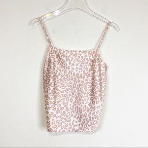 Victoria's Secret | Cheetah Camisole Pajama Top XS